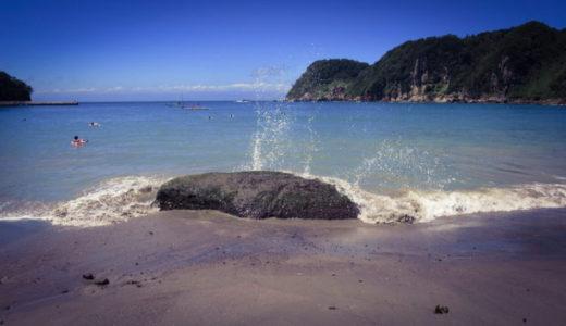青い空青い海。伊豆半島一周