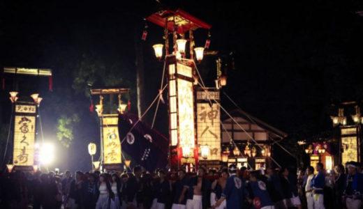 夏の終わりに ① ──能登のキリコ祭り──